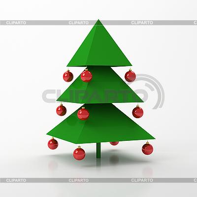 Weihnachtstanne | Illustration mit hoher Auflösung |ID 3062019