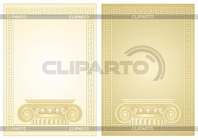 Antiker Rahmen | Stock Vektorgrafik |ID 3159195