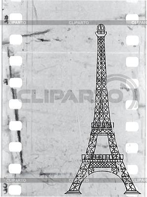 Eiffelturm udn Film | Stock Vektorgrafik |ID 3042145