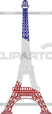 Wieża Eiffla | Klipart wektorowy |ID 3042147