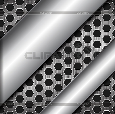 Abstrakter metallischer Hintergrund | Stock Vektorgrafik |ID 3044734