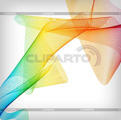 Streszczenie dymu kolorowe tło | Klipart wektorowy |ID 3044868