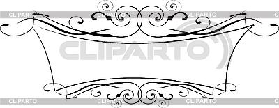 Schwarzweißer ornamentaler Rahmen | Stock Vektorgrafik |ID 3122027