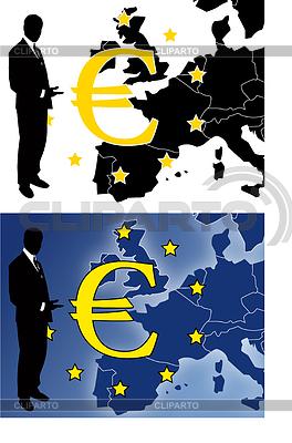 схема вышивки евро