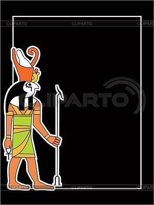 Egipski bóg | Klipart wektorowy |ID 3229048