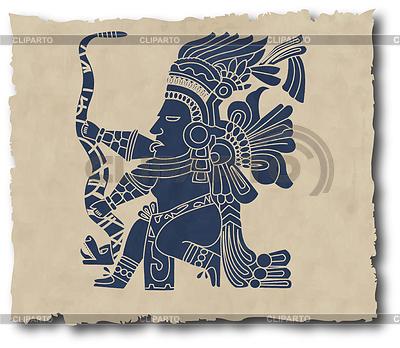 Maya-Piktogramm | Stock Vektorgrafik |ID 3271764