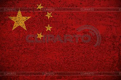 Grunge-Flagge von China | Foto mit hoher Auflösung |ID 3054290