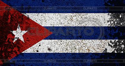 Grunge-Flagge von Kuba | Foto mit hoher Auflösung |ID 3054302