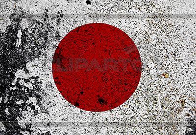 Grunge Flaga Japonii | Foto stockowe wysokiej rozdzielczości |ID 3054328