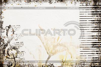 Old Style Music Background | Stockowa ilustracja wysokiej rozdzielczości |ID 3054338