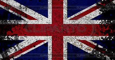 Flagge von Großbritannien im Retro-Stil | Foto mit hoher Auflösung |ID 3054427