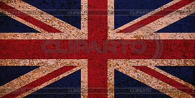 Flagge von Großbritannien im Retro-Stil | Foto mit hoher Auflösung |ID 3054428