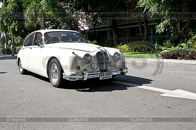 Jaguar Mark II auf Oldtimer-Parade | Foto mit hoher Auflösung |ID 3056676