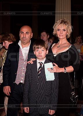 Russische Sängerin Walerija mit der Familie | Foto mit hoher Auflösung |ID 3056720