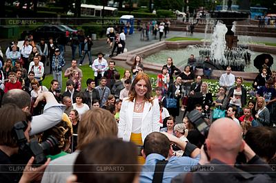 Rosyjski piosenkarz Natalya Podolskaya | Foto stockowe wysokiej rozdzielczości |ID 3056757