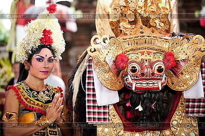 Barong - Held in der Mythologie von Bali | Foto mit hoher Auflösung |ID 3056772