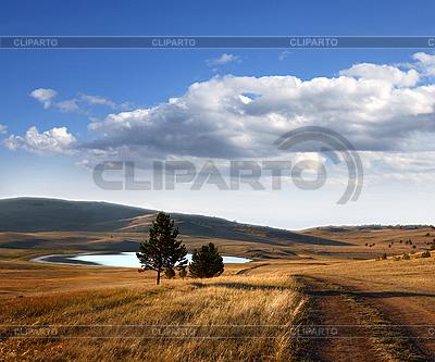 Landstraße im Herbst | Foto mit hoher Auflösung |ID 3047711