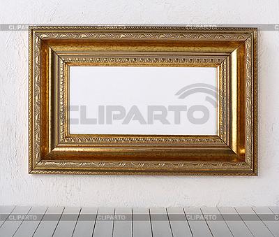 Alter Bildrahmen an der Wand | Foto mit hoher Auflösung |ID 3069708