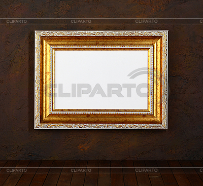 Alter Bildrahmen an der Wand | Foto mit hoher Auflösung |ID 3069710