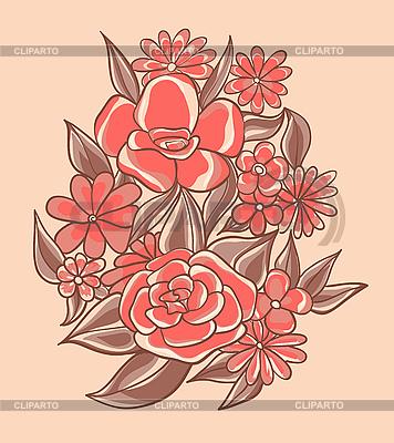 Rote Blumen | Stock Vektorgrafik |ID 3072204