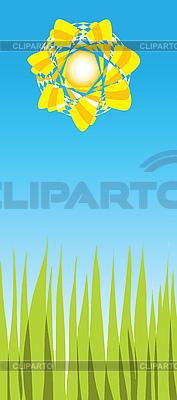Jasny słoneczny dzień | Klipart wektorowy |ID 3078282