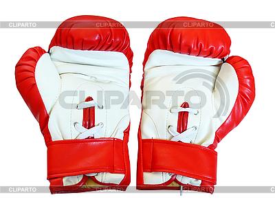 Skórzane rękawice bokserskie | Foto stockowe wysokiej rozdzielczości |ID 3044583