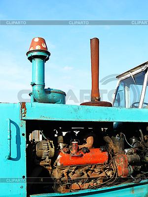 Motor von einem Traktor | Foto mit hoher Auflösung |ID 3045282