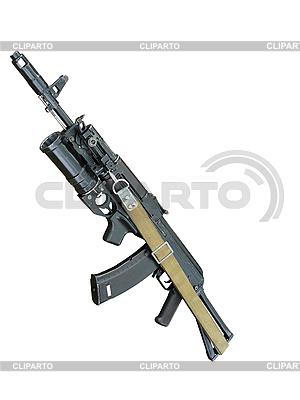 Kalashnikov automat z granatnika | Foto stockowe wysokiej rozdzielczości |ID 3045305