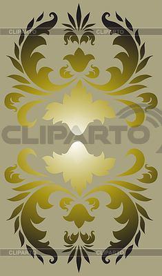 Kwiatowy element dekoracyjny | Klipart wektorowy |ID 3296095