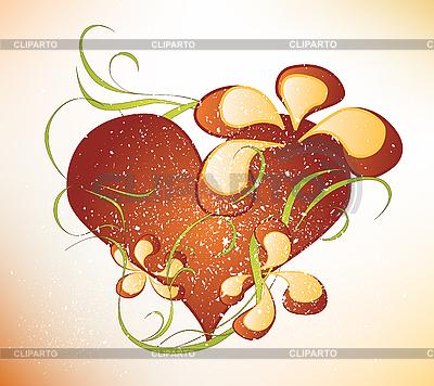 Valentinstag-Design mit Herz | Stock Vektorgrafik |ID 3047655