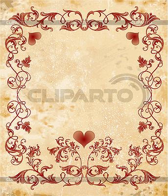 Ramka Walentynki | Klipart wektorowy |ID 3062061