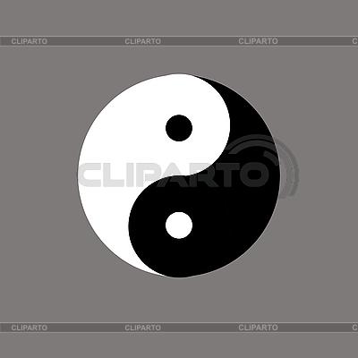 Chinesisches Symbol von Yin und Yang | Illustration mit hoher Auflösung |ID 3045444