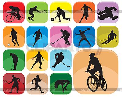 Sport-Icons | Stock Vektorgrafik |ID 3116275