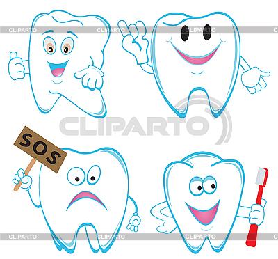 Tooths | Klipart wektorowy |ID 3116489