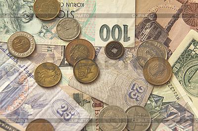 Scheine und Münzen | Foto mit hoher Auflösung |ID 3167088