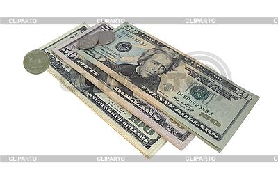 US-Scheine und Münzen | Foto mit hoher Auflösung |ID 3167224