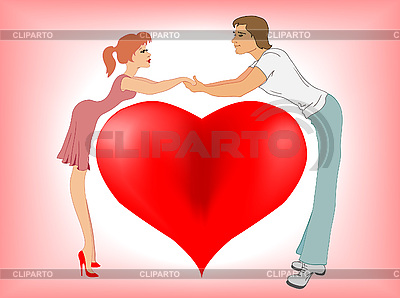 Zakochiwanie się | Klipart wektorowy |ID 3046628