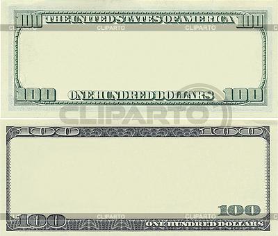 Muster-Rahmen aus 100-Dollar-Banknote | Foto mit hoher Auflösung |ID 3047839