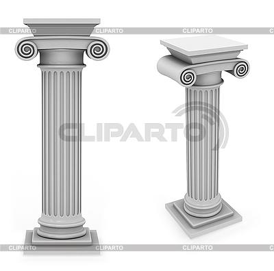 Marble roman column | Stockowa ilustracja wysokiej rozdzielczości |ID 3047987