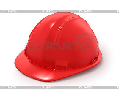 Czerwony kask budowniczy `s | Stockowa ilustracja wysokiej rozdzielczości |ID 3048117