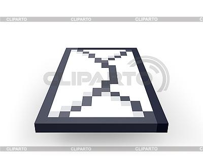 Icon für Versenden eines Briefes | Illustration mit hoher Auflösung |ID 3048129