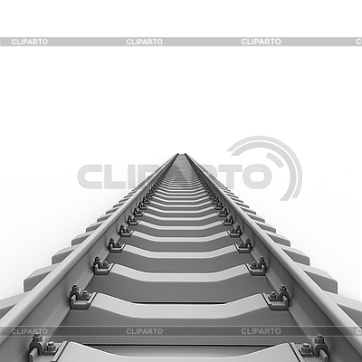 3d Gleise Eisenbahn | Illustration mit hoher Auflösung |ID 3048188