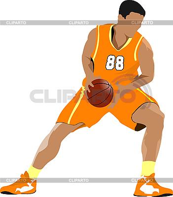 Basketball-Spieler | Illustration mit hoher Auflösung |ID 3047697