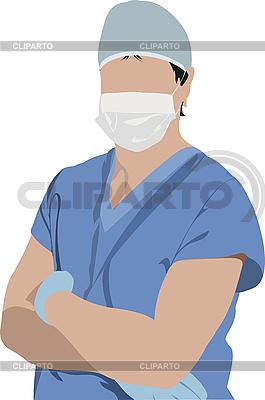 의사입니다. 외과 의사 | 벡터 클립 아트 |ID 3048367