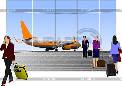 Аэропорту | Фото большого размера и векторный клипарт | CLIPARTO
