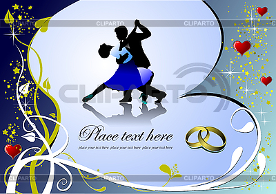 Valentine `s Day Greeting Card | Klipart wektorowy |ID 3069913