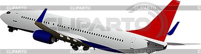 Flugzeug im Flug | Stock Vektorgrafik |ID 3106013