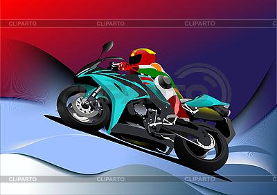 Motorrad | Illustration mit hoher Auflösung |ID 3175221