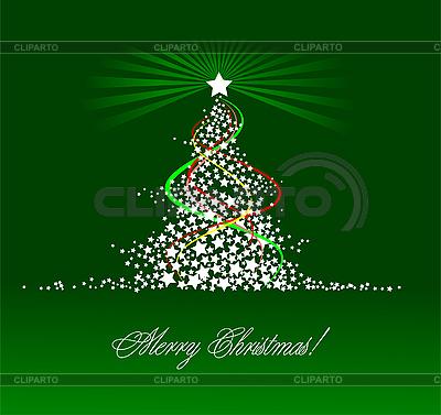 Weihnachten - Neujahr Baum. | Stock Vektorgrafik |ID 3198468