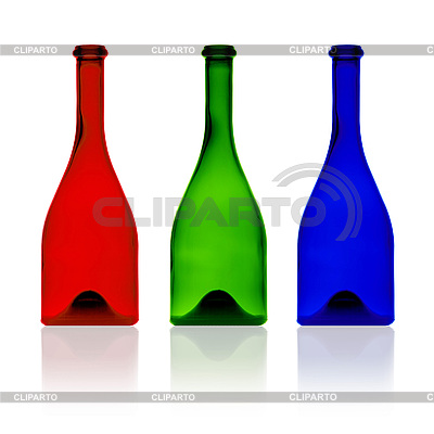 Farbige Flaschen | Foto mit hoher Auflösung |ID 3047810